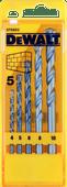 DeWalt 5-delige Casette Steenborenset