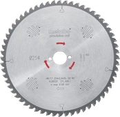 Metabo Zaagblad Precision Cut 254x30x2.4mm 48T