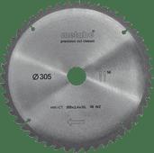 Metabo Lame de Scie Precision Cut 305x30x2.4 mm 56T