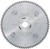 Metabo Zaagblad Multi Cut 254x30x2.4mm 80T