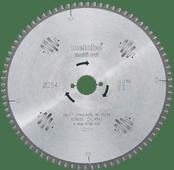 Metabo Lame de scie Multi Cut 254x30x2.4mm 80T