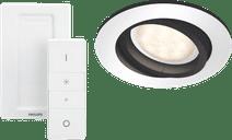 Philips Hue Milliskin Aluminium Rond Inclusief Dim Switch