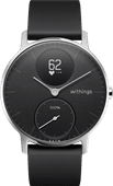 Withings Steel HR Silver / Black 36mm