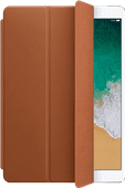 Apple Leren Smart Cover iPad Air (2019), iPad (2019) en Pro 10.5 Zadelbruin
