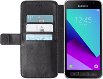Azuri Wallet Magnetic Samsung Galaxy Xcover 4/4s Book Case Black