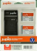 Jupio Kit : Batterie NB-13L (2x) + Chargeur USB Unique