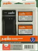 Jupio Kit: Battery LP-E10 (2x) + USB Single Charger