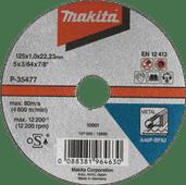 Makita B-35134 Slijpschijf Metaal 125 mm