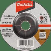 Makita Disque à ébarber A-80656 125 mm