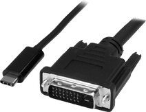 StarTech USB-C naar DVI adapter kabel 1 meter