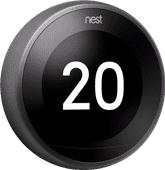 Google Nest Learning Thermostat V3 Premium Zwart