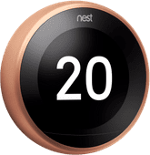 Google Nest Learning Thermostat V3 Premium Cuivre