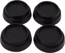 Scanpart vibration dampers for hard flooring