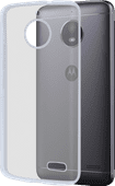 Azuri Glossy TPU Motorola Moto E4 Back Cover Transparant