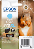 Epson 378XL Cyan Clair (C13T37954010)