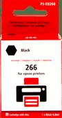 Pixeljet 266 Cartridge Zwart