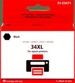 Pixeljet 34XL Cartouche Noir