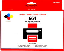 Pixeljet 664 Inketflesjes Combo Pack