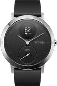 Withings Steel HR Silver / Black 40mm