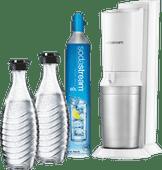 SodaStream Crystal Megapack Blanc + 2 carafes