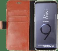 Valenta Booklet Classic Luxe Galaxy S9 Book Case Bruin