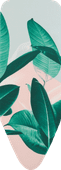 Brabantia Overtrek C 124 x 45 cm Tropical Leaves
