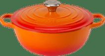 Le Creuset Marmite Braadpan 32 cm Oranje-rood