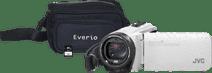 JVC GZ-R495WEU Wit + geheugenkaart + tas