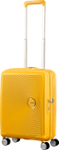 American Tourister Soundbox Expandable Spinner 55 cm Golden Yellow