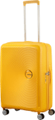 American Tourister Soundbox Expandable Spinner 67 cm Golden Yellow