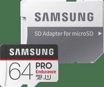 Samsung microSDXC PRO Endurance 64GB 100 MB/s + SD Adapter