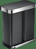 Simplehuman Rectangular Liner Pocket GFT 24 + 34 L Antraciet