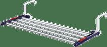 Leifheit hanging rack quartett 42 (aluminum)