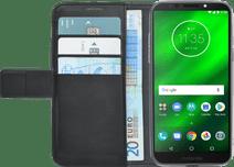 Azuri Coque à Rabat Portefeuille Magnétique Motorola Moto G6 Play Noir
