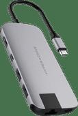 Station d'accueil Slim USB Type-C 8-en-1 Gris sidéral Hyper