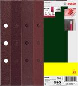 Bosch Sandpaper 93x230mm K60, 80, 120, 240 (25x)