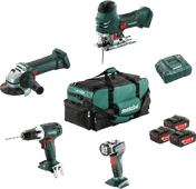 Metabo Bouw & Renovatie - 4 machines Combiset