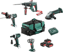 Metabo Bouw & Renovatie - 5 machines Combiset