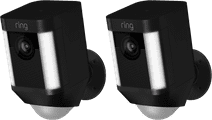 Ring Spotlight Cam Battery Black Duo Pack