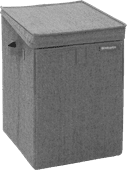 Brabantia Stackable laundry box 35 liters - Pepper Black