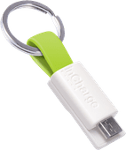 InCharge Micro-USB Cable 3,8cm Lime Green