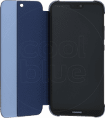Huawei P20 Lite Flip Cover Book Case Blauw