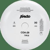 Alecto Détecteur de monoxyde de carbone COA-29/7 avec capteur autonomie de 7 ans