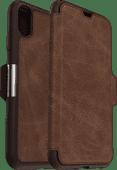 Otterbox Strada Apple iPhone Xs Max Book Case Brown