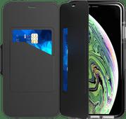 Tech21 Evo Coque à rabat portefeuille Apple iPhone Xs Max Noir