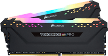 Corsair Vengeance RGB Pro 16GB DDR4 DIMM 3000 Mhz / 15 (2x8GB) Black