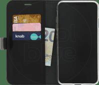 Azuri Coque à Rabat Portefeuille Magnétique pour Apple iPhone Xs Max Noir