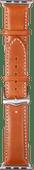 DBramante1928 Copenhagen Apple Watch 38/40 mm Leren Bandje Bruin/Zilver