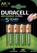 Duracell Recharge Ultra AA-batterijen 4 stuks