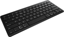 Zagg AZERTY Wireless Bluetooth Keyboard